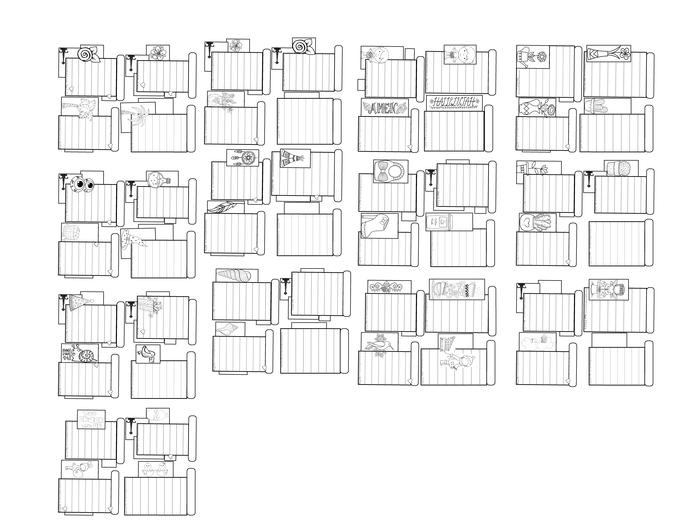 Custom Order Journal Entries Cards Headers- For Marie Flo 54 cards