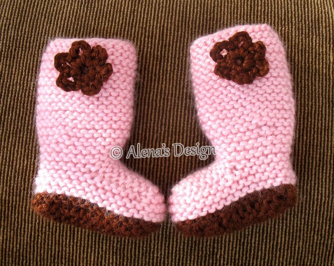 18 Inch Doll Boots Free Knitting Pattern By Alenasdesign On Zibbet