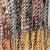 Handcrafted Spirit Cord, Finger Spun with Vintage Fabrics