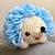 READY TO SHIP Happy Hedgehog Crochet Plush