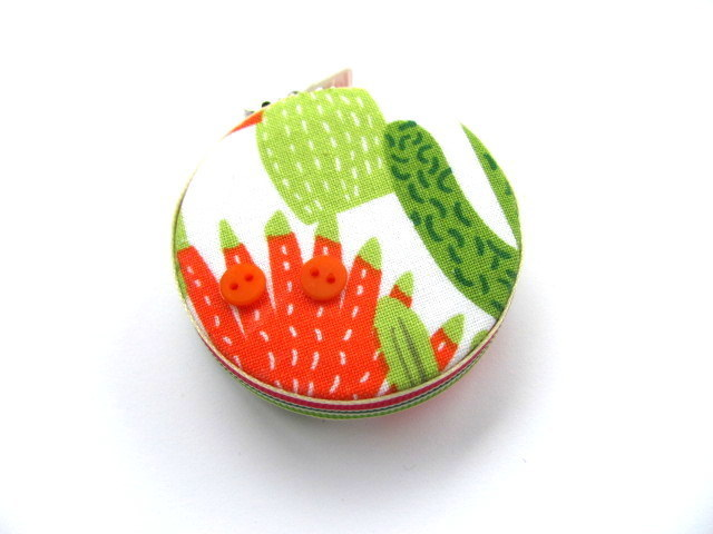 Tape Measure Green Cactus Retractable Measuring Tape