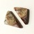 Crazy Lace Agate Gemstone Cabochon Triangle 30x15mm FOR TWO