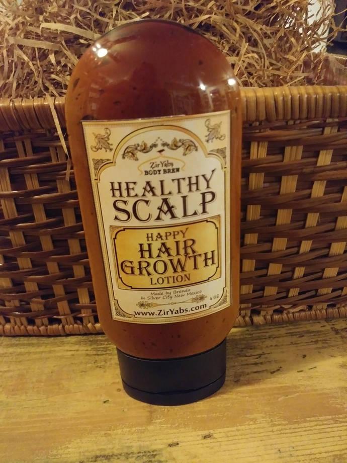 Alopecia Hair Growth Lotion | Healthy Scalp & Happy Hair Zinc Oxide, Sulfur,