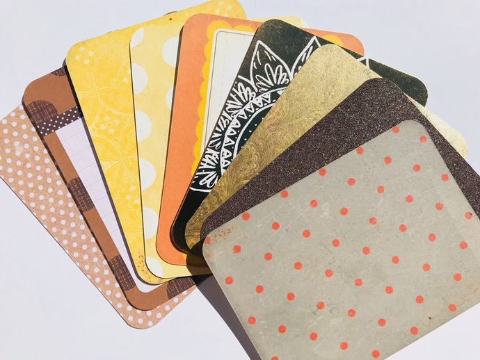 10 3 x 4in journalling cards scrapbooking embellishments card making Project