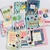 10 3 x 4 inch embellished journalling cards scrapbooking embellishments card