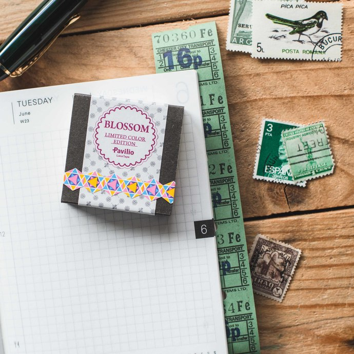 Pavilio Mini tapes - Fortune - 1 cm wide washi tape 6m - perfect for Travelers