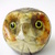 Vintage marble owl letter weight,papir weight,paperweight figurine,letter holder