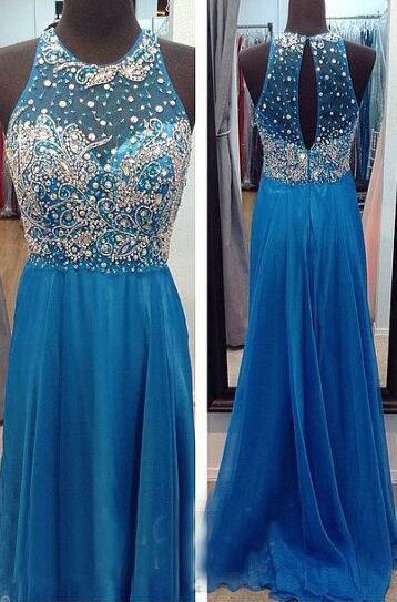 Beading Prom Dresses Long Formal Dresses
