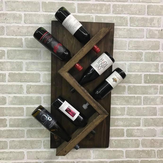 Wine Rack- Holds 6