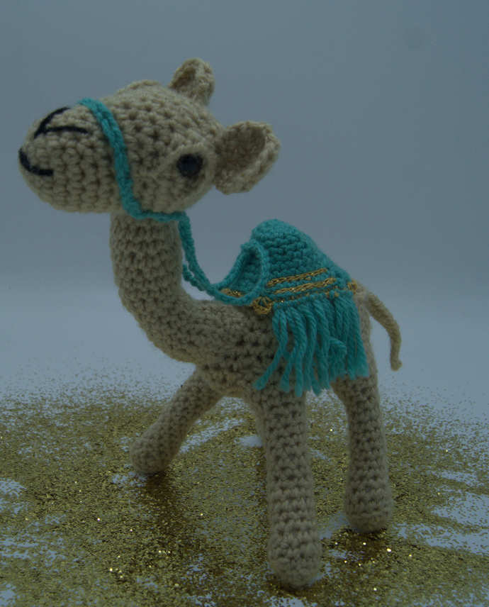 Camel Amigurumi/Crocheted Camel Stuffed Animal