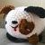 READY TO SHIP Stuffed Puppy Dog - Amigurumi, Toy, Plush