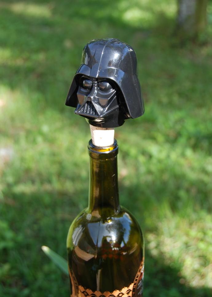 Darth Vader Wine Bottle Stopper Star Wars