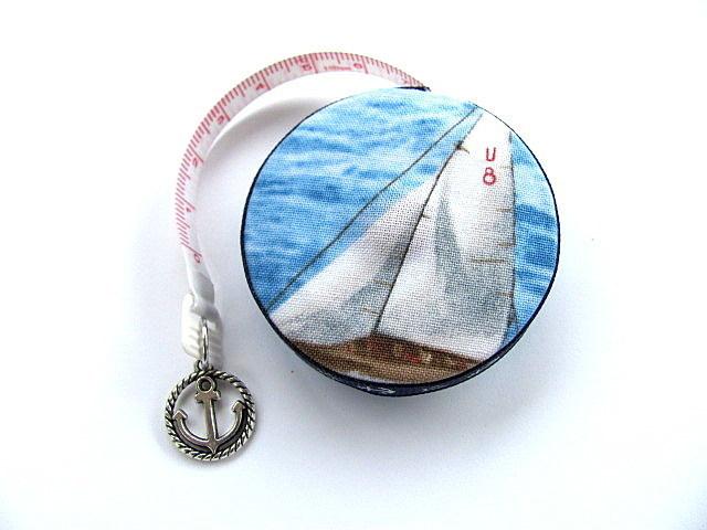 Measuring Tape Sail Boat Retractable Tape Measure