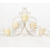 Koehler Home Decorative Vintage Scrollwork Candle Wall Sconce