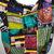 African handmade multicolored cross bag
