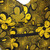 African handmade yellow and black cross bag