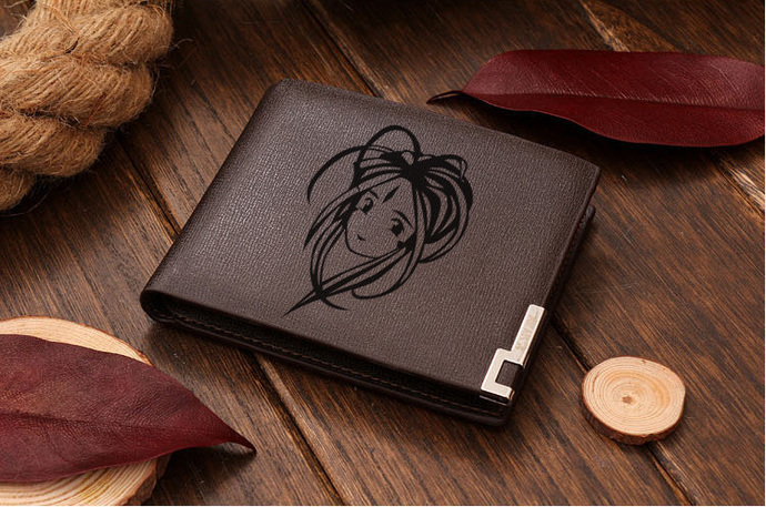 Ah My Goddess Leather Wallet
