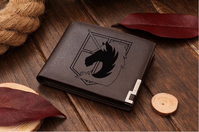 Attack On Titan Military Police Leather Wallet