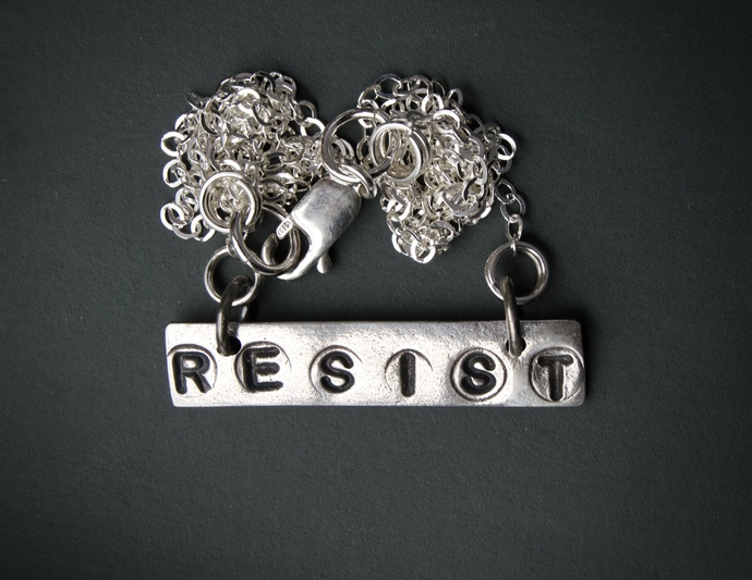 Silver charm, Resist, Impeach, Nevertheless She Persisted, Me Too, Time's Up,