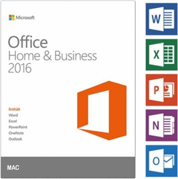 Microsoft Office Home and Business 2016 - MAC