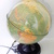 Vintage World globe lamp, Vintage lamp, Planet Earth, in Hungarian language