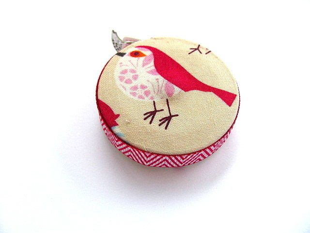 Tape Measure with Pattern Birds Retractable Measuring Tape
