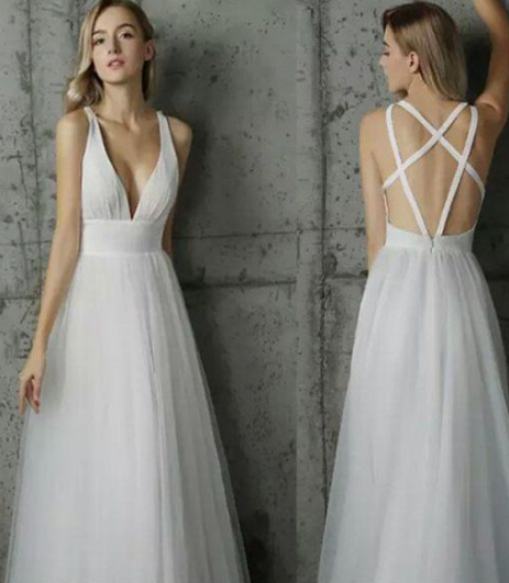 a630c4caa761d Charming Prom Dress,Tulle Prom Gown,V-Neck Prom by pennystyle on