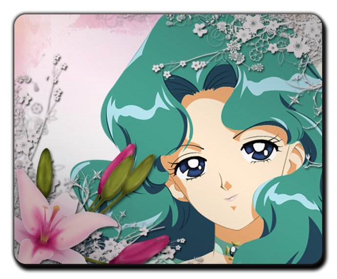 Sailormoon Neptune MOUSEPAD Mouse Mat Pad