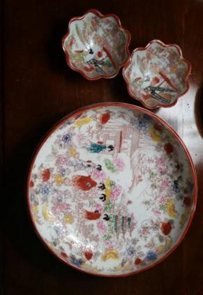Fancy bowl set
