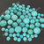 Turquoise 5mm Gemstone Cabochon Round FOR TWO