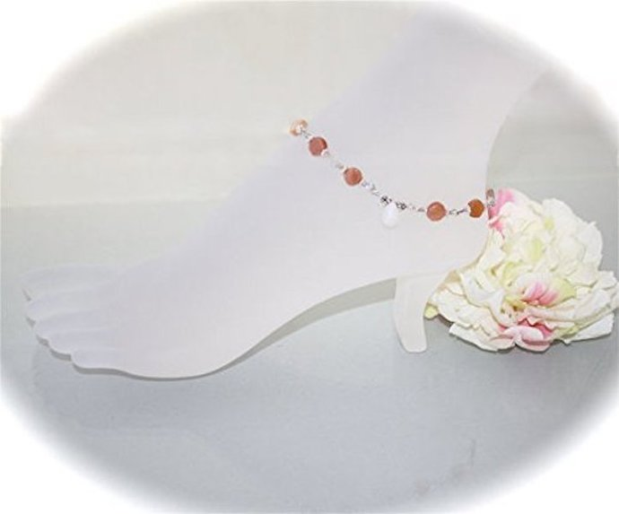 Moonstones Glow Anklet