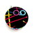 Measuring Tape with Neon Knitting Needles Retractable Tape Measure