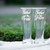 Gift for Father of the Bride and Groom, Personalized Glasses with Wedding Date,