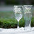 Mother and Father of the Groom Toasting Glasses, Hand Engraved Set of 2, Choose