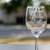 Set of 2 Personalized Bridesmaid Wine Glasses with Names and Wedding Date, Hand