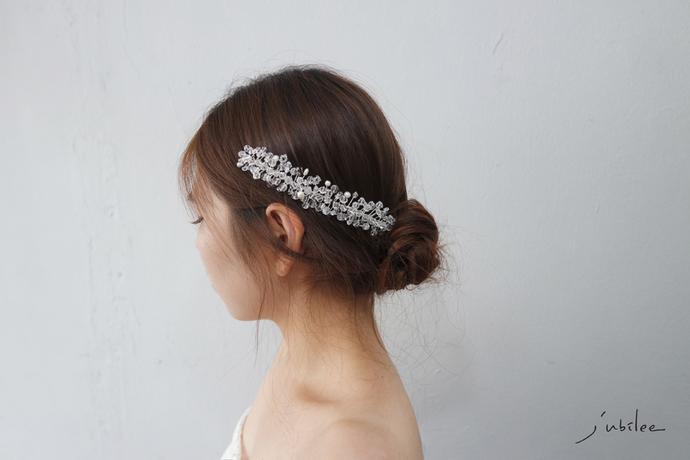 [Imperial2] wedding jewelry bridal head piece hair jewelry crystal wedding hair