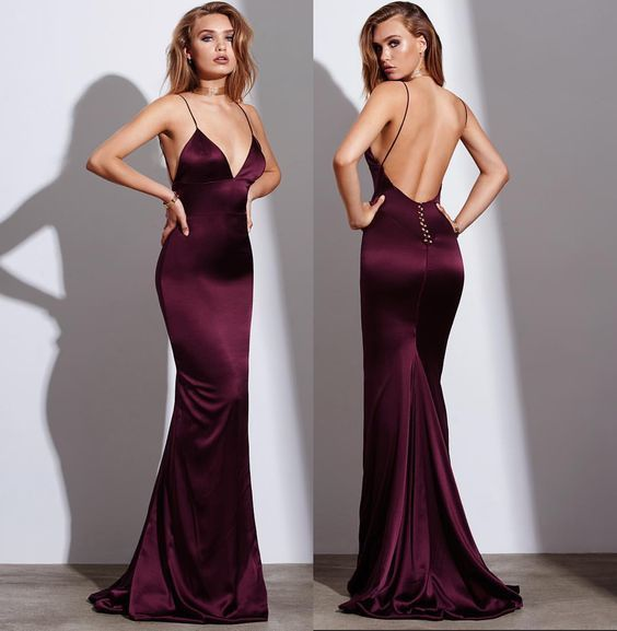 Sexy Burgundy Prom Dress Mermaid Prom By Prom Dresses On Zibbet