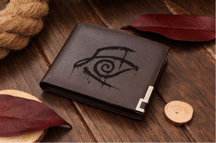 Crimson King Eye The Dark Tower All Hail Bloody Eye Leather Wallet