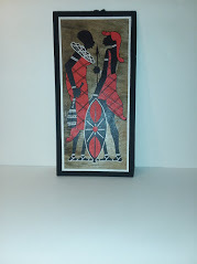 African handmade painting
