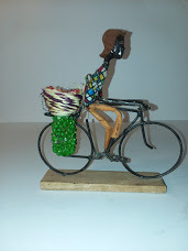 Unique African Handmade metal bicycle