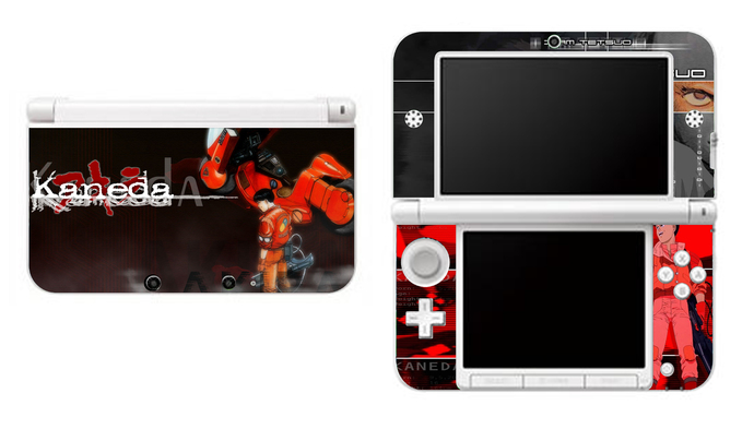 Akira NEW Nintendo 3DS XL LL, 3DS, 3DS XL Vinyl Sticker / Skin Decal