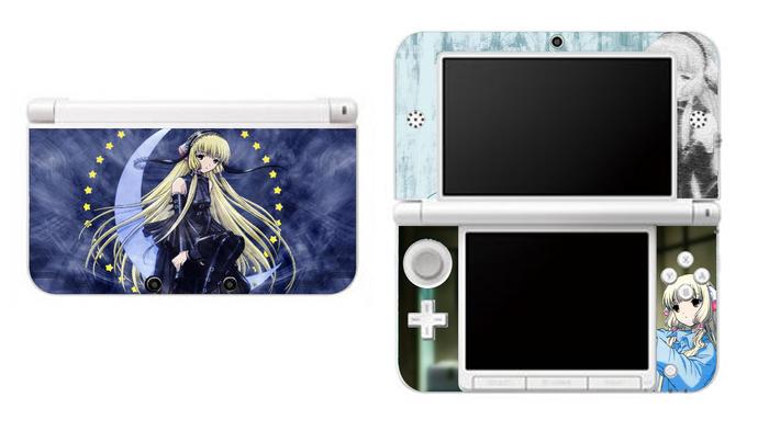 Chobits NEW Nintendo 3DS XL LL, 3DS, 3DS XL Vinyl Sticker / Skin Decal