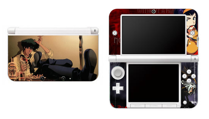 COWBOY BEBOP NEW Nintendo 3DS XL LL, 3DS, 3DS XL Vinyl Sticker / Skin Decal