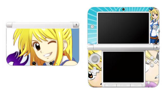 Fairy Tail Lucy Heartfilia NEW Nintendo 3DS XL LL, 3DS, 3DS XL Vinyl Sticker /