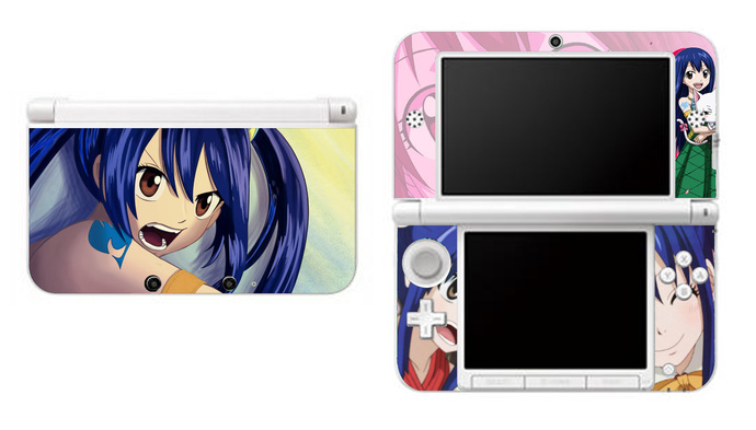 Fairy Tail Wendy Marvell NEW Nintendo 3DS XL LL, 3DS, 3DS XL Vinyl Sticker /