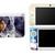 Kingdom Hearts Aqua NEW Nintendo 3DS XL LL, 3DS, 3DS XL Vinyl Sticker / Skin