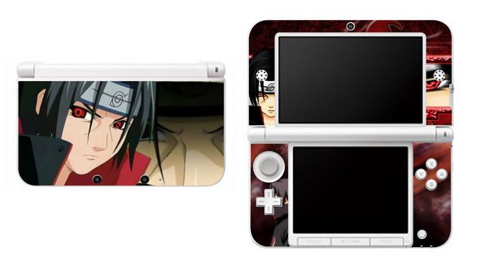 Naruto Uchiha Itachi NEW Nintendo 3DS XL LL, 3DS, 3DS XL Vinyl Sticker / Skin