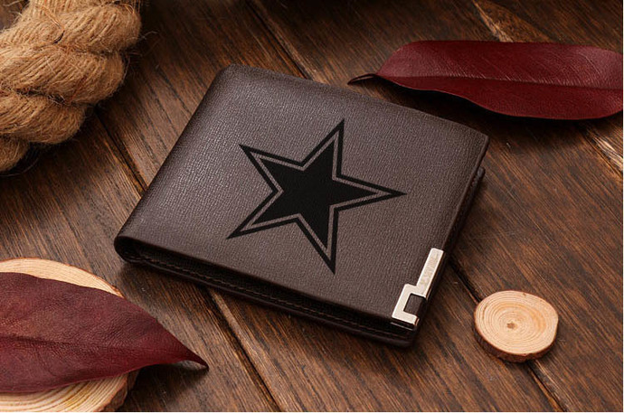 Hot Football Dallas Cowboys NFL Leather Wallet by GOKU on Zibbet