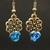 Regal Rose Earrings
