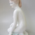 Large,Vintage Aquincum porcelain nude lady,stamped,handpainted
